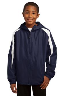 Aggie Youth Colorblock Hooded Jacket