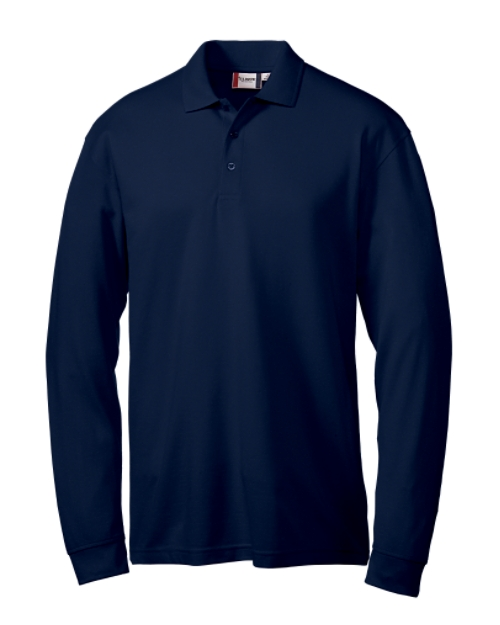 Utah State Mens LS Evans Easy Care Polo