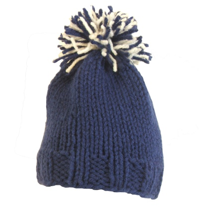 Infant USU Pom Pom Hat