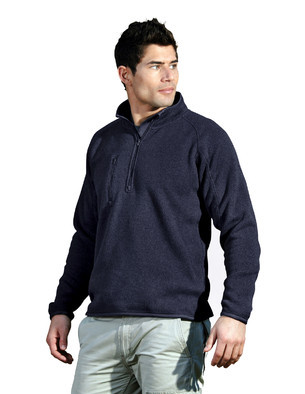 Aggie Mens Regan 1/4 Zip Fleece