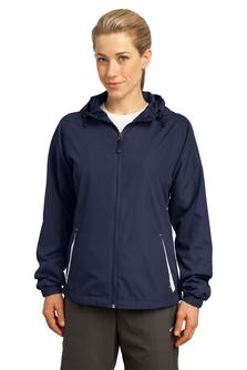 Aggie Ladies Colorblock Hooded Jacket