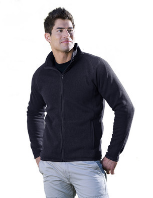 Aggie Mens Evan Full Zip Fleece