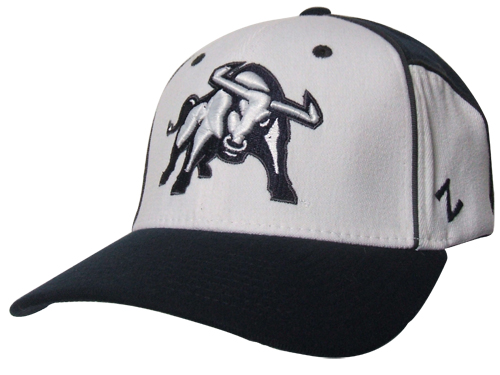 Aggie White Cut Up Hat