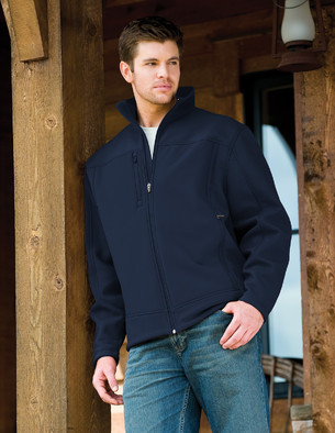 Aggie Mens Rockford Soft Shell Jacket